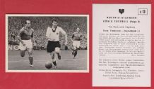 France v West Germany 1952 Marche Stade de Reims Rahn Rot Weiss Essen D13